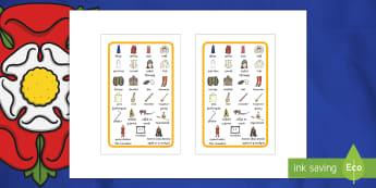 Ffrâm Poster Prydlon Geirfa Allweddol Y Tuduriaid Ikea Tolsby - Tudor, Tudors, Tuduriaid, hanes, Cymraeg,ysgrifennu, geiriau, allweddol,,Welsh