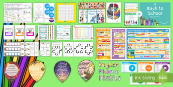 KS1 Back to School 2018 Trending Resource Pack - september, transition, start of year, new year, new class