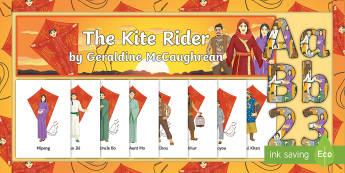 Secondary English The Kite Rider Display Pack  - The Kite Rider, Great Uncle Bo, Great Aunt Mo, Pei, Qing'an, Haoyou, Wawa, Mipeng, Di Chou, Miao Ji