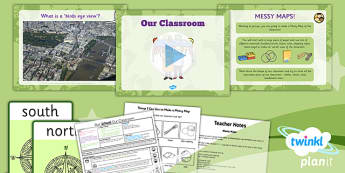 PlanIt Geography Year 1 Our School Lesson 2 Our Classroom Lesson