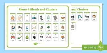 Middle East Phase 4 Blends and Clusters Sound Mat - sound mat phonics, literacy, phase 4, Dubai, Abu Dhabi,  KS1, Bahrain, middle east.