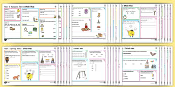 Year 1 Spelling, Punctuation and Grammar Activity Mats Pack - KS1, Key Stage 1, key stage one, year 1, Y1, year one, SPaG, spelling, punctuation, grammar, reading