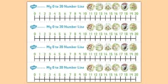 The Tale of Mr Jeremy Fisher Number Lines 0-20 - mr jeremy fisher, number lines, 0, 20, number, maths, beatrix potter