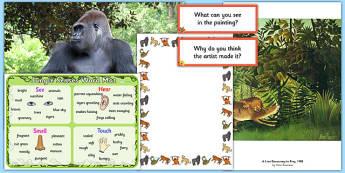 Rainforest Creative Writing Pack - rainforest, creative writing, pack, creative, writing