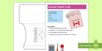 Canada Pocket Craft - Canada, canadian, currency, money, coins, CAD, canadian money, canadian dollars, purse, wallet,