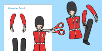 Split Pin Royal Grenadier Guard - Grenadier Guard, split pin, activity, Queen, royal, guard, London, making a split pin, making a Grenadia Guard
