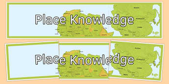 Place Knowledge Display Banner - place knowledge, display banner, display, banner