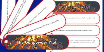 The Gunpowder Plot Facts Fan Book - gunpowder plot, facts, fan book