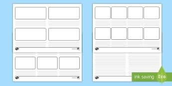 Blank Story Board  - storyboard, stories, story, books, reading, flashback