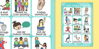 Good Manners Display Poster - ourselves, behaviour, manners