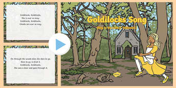 Goldilocks Song PowerPoint