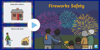 Fireworks Safety PowerPoint
