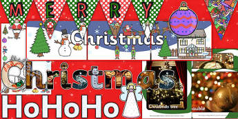 Teaching Assistant Christmas Display Resource Pack - ta, display