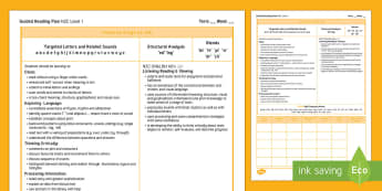 New Zealand Yellow Guided Reading Weekly Plan - Literacy, Reading, Yellow, Colour Wheel