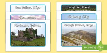 Connacht Ireland Photo Pack - ROI, The World Around Us, WAU, Galway, Roscommon, Sligo, Mayo, Leirtim,Irish