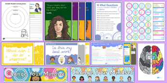 New Zealand Growth Mindset Set-Up Resource Pack - New Zealand Back to School, growth, mindset, resilience, motivational, nz, new classroom, new term,