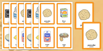 Pancake Day Pairs Matching Game Polish Translation - Polish, activity, activities, match