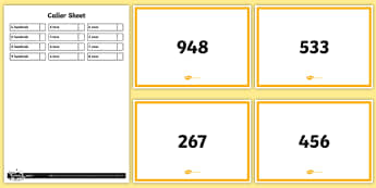 Recognising Place Value Class Activity - Number and Place Value, game,  maths mastery, year 3, fun maths, hundreds, tens, ones, number value,
