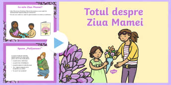 Totul despre Ziua Mamei - ziua mamei, primavara, martie, 8 martie, sărbători, materiale, activități, română, mama,Romani