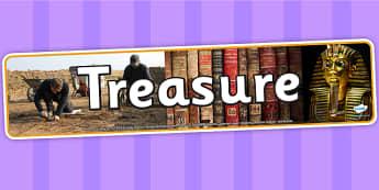 Treasure Photo Display Banner - IPC, banner, photo