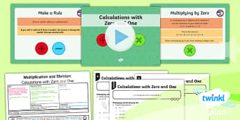 PlanIt Y4 Multiplication and Division Lesson Pack Mental Multiplication and Division (1)