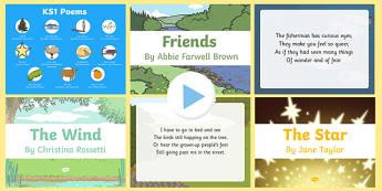 Mixed KS1 Poems PowerPoint