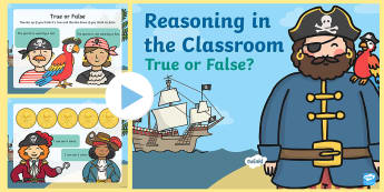 Reasoning in the Classroom PowerPoint - Reasoning in the Classroom, Reasoning, Numeracy, Maths, Reception.,Welsh