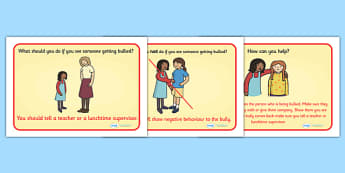 What To Do If You See Bullying Display Posters - what to do, bully, bullying, see bullying, help, good behaviour, behaviour, friendship, step up, display, poster, sign