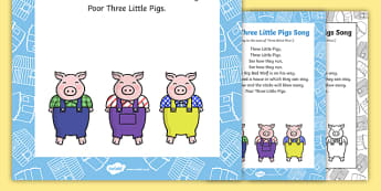 Poor Three Little Pigs Song