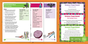 EYFS Meg and Mog Science Experiments Resource Pack to Support Teaching on Meg and Mog