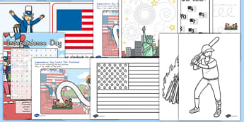American Independence Day Activity Pack - usa, independence day