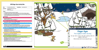 EYFS Gruffalo's Child's Journey Finger Gym Plan and Resource Pack
