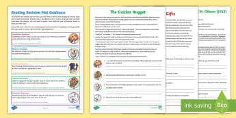 Year 3 Reading Revision Activity Mat Pack 2 - Reading Dogs, English, Literacy, comprehension, poetry, fiction, non-fiction