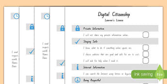 Digital Citizenship Agreement