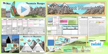 Geography: Magnificent Mountains Year 5 Unit Pack