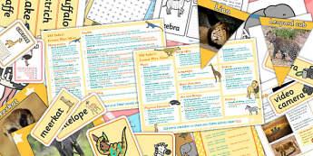 Safari KS1 Lesson Plan Ideas and Resource Pack - safari, ks1 pack