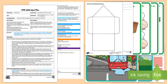 EYFS Counting Postman's Lost Letters Adult Input Plan and Resource Pack - Maths, Number, Numeracy, Irregular Arrangement of objects, People who Help us, Foundation, Early Yea