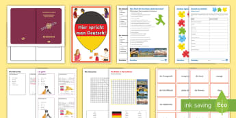 Languages Open Evening Resources Differentiated Activity Sheets German - Open, Evening, Year 6, Language, Activities, German