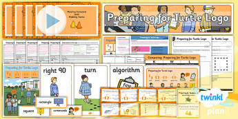Computing: Preparing For Turtle Logo Year 2 Unit Pack