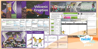 PlanIt - PE Year 3 - Dance Extreme Earth: Unit Pack  - Dance Extreme Earth