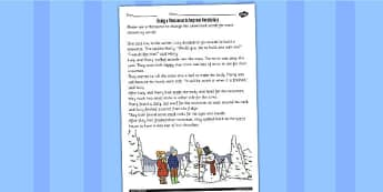 Use a Thesaurus to Improve Vocabulary Worksheet - worksheet