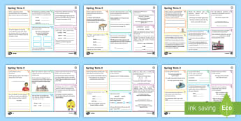 Year 6 Spring Term 2 SPaG Activity Mats - SPaG Activity Mats KS2, SPaG, GPS, grammar, punctuation, spelling, writing, practise, practice, morn