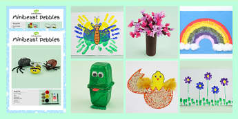 Spring Craft Activity Pack - spring, craft activities, pack