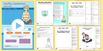 Year 4 Term 2 Poetry Reading Assessment Guided Lesson Teaching Pack - Year 3, Year 4 & Year 5 Reading Assessment Guided Lesson PowerPoints, KS2, reading, read, assessment