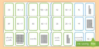 Juego de cartas: ¡Pesca! - Valor posicional - ¡pesca!, pesca, ve a pescar, juego, cartas, juego de cartas, mates, matemáticas, números, valor p