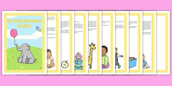 Baby Milestone Booklet - Baby, newborn, record, development, milestones