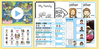 International Day of Families KS1 Resource Pack - international, families, family, world,