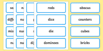 Maths General Word Cards - general maths, maths word cards, mathematics word cards, maths, mathematics