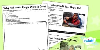 History: Stone Age to the Iron Age UKS2 Unit Home Learning Tasks