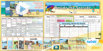 Geography: Beside the Seaside Year 2 Unit Pack